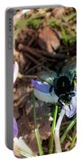 Crocuses And Fly Portable Battery Charger