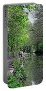 Cromford Canal - Tree Lined Walk Portable Battery Charger
