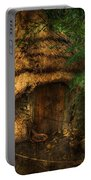 Crooked House Portable Battery Charger by Svetlana Sewell