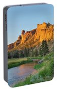 Crooked River And Monkey Face At Smith Rock Portable Battery Charger