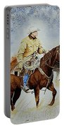 Cropped Ranch Rider Portable Battery Charger