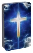 Cross Abstract Portable Battery Charger