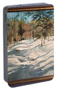 Cross Country Ski Trail Portable Battery Charger