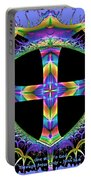 Cross Of One Way To God Portable Battery Charger