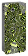 Crossing White Lines Abstract Portable Battery Charger