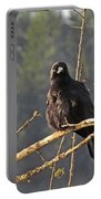Crow Morning  Portable Battery Charger