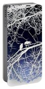 Crow Silhouette  Portable Battery Charger