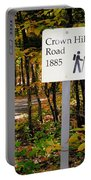 Crown Hill Road 1885 Portable Battery Charger