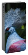 Crowned Pigeon Portable Battery Charger