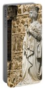 Crowned Statue - Toledo Spain Portable Battery Charger