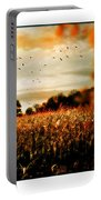 Crows And Corn Portable Battery Charger