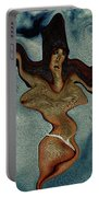 Crucified Woman Surreal I Portable Battery Charger