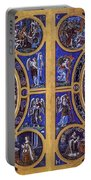 Crucifixion And Resurrection  Portable Battery Charger