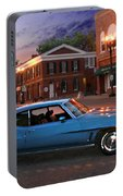 Cruise Night In Liberty Portable Battery Charger