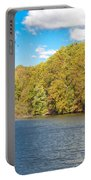 Crum Creek In Autumn Portable Battery Charger