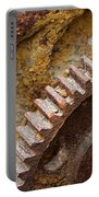 Crusty Rusty Gears Portable Battery Charger