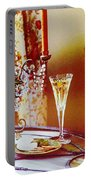 Crystal And Champagne Portable Battery Charger