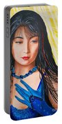 Crystal Blue China Girl            From   The Attitude Girls  Portable Battery Charger
