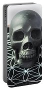 Crystal Skulls Michelangelo, Jesus And Xenia Portable Battery Charger