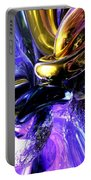 Crystalized Ecstasy Abstract  Portable Battery Charger