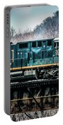 Cs X  Ge Engine 3046 On Trestle Portable Battery Charger