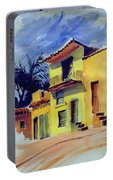 Cuban Architecture Portable Battery Charger