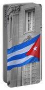 Cuban Flag Portable Battery Charger