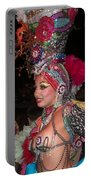 Cuban Tropicana Dancer Portable Battery Charger
