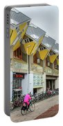Cube Houses In Rotterdam Portable Battery Charger