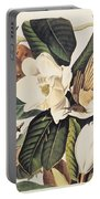 Cuckoo On Magnolia Grandiflora Portable Battery Charger