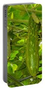 Cucumber On Tree In The Garden 1 Portable Battery Charger