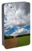 Cumulus Skies In France Portable Battery Charger