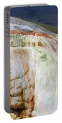 Cupid Spring At Mammoth Hot Springs Portable Battery Charger