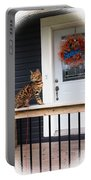 Curious Bengal Cat Portable Battery Charger