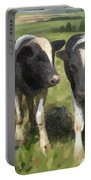 Curious Cows Portable Battery Charger by Ivana Westin