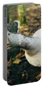 Curious Grey Goose Portable Battery Charger