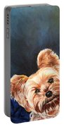 Curious Yorkie Portable Battery Charger