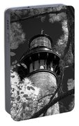 Currituck Beach Lighthouse In Infrared Portable Battery Charger
