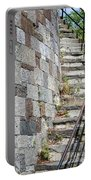 Curved Stone Staircase 235 Portable Battery Charger