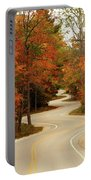 Curvy Fall Portable Battery Charger