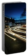 Curvy Night Time Traffic Portable Battery Charger