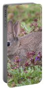 Cute Baby Bunny Portable Battery Charger