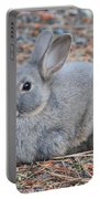 Cute Campground Rabbit Portable Battery Charger