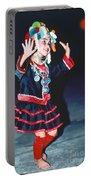 Cute Little Thai Girl Dancing Portable Battery Charger