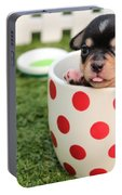 Cute Puppy Portable Battery Charger