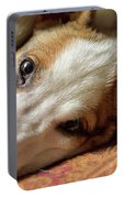 Cute Puppy Cuddles Portable Battery Charger