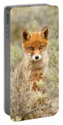 Cute Red Fox Kit Portable Battery Charger