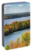 Cuyuna Country State Recreation Area - Autumn #1 Portable Battery Charger