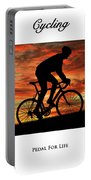 Cycling Pedal For Life Portable Battery Charger