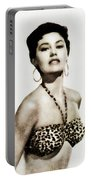 Cyd Charisse, Actress And Dancer Portable Battery Charger